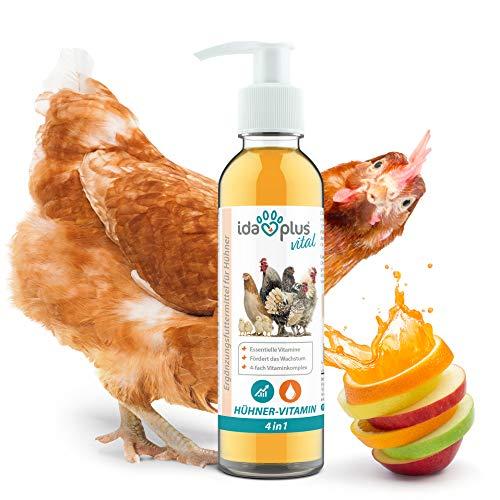 Ida Plus – Hühner-Vitamin 4in1 200 ml – Vitaminkonzentrat mit Vitamin ADEC für...