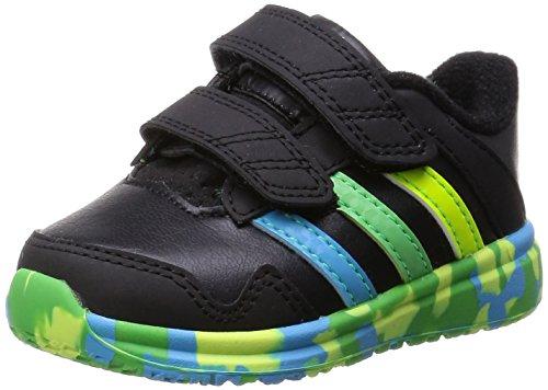 adidas Snice 4 CF I - Zapatillas De Running Niños, Negro / Azul / Verde, 22