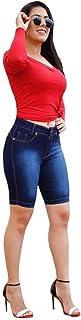 Bermuda Jeans Feminina Ciclista Short Jeans