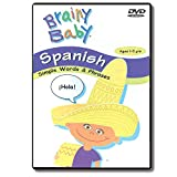 Brainy Baby Teach Your Child Spanish: Simple Words and Phrases Language DVD Classic Edition