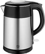 ZWILLING Wasserkocher, 1,2 Liter, 1.550-1.850 Watt, Edelstahl/Kunststoff, Schwarz