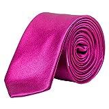 Korntex Unisex– Erwachsene KXTIEDP5 Krawatte - Schmal, Dark Pink