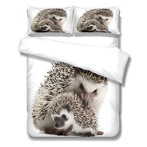 3-teiliger Bettbezug mit Sim-Muster...