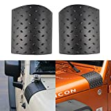 TuhooMall Black Cowl Body Armor Outer Cowling Cover Compatible for Jeep Wrangler JK Rubicon Sahara Sport X & Unlimited 2/4 Door 2007-2018