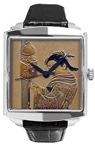 Joga Herren-Armbanduhr Analog Automatik geprägtes Leder G01-050