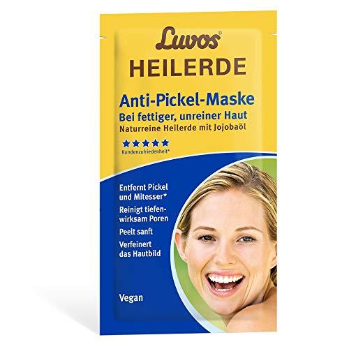 Luvos Heilerde Anti-Pickel Mitesser-Maske tiefenwirksame Creme, 15 ml