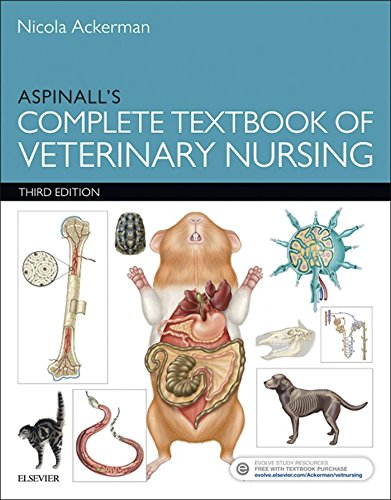Book's Cover of Aspinall's Complete Textbook of Veterinary Nursing E-Book (English Edition) Versión Kindle
