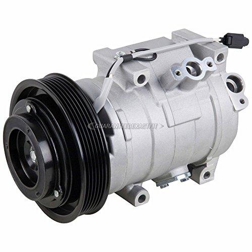 AC Compressor & A/C Clutch For Honda Odyssey Pilot Ridgeline Acura MDX ZDX - BuyAutoParts 60-02437NA New