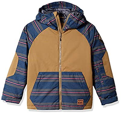Billabong Boys' All Day Outerwear Jacket Apple Butter X-Large