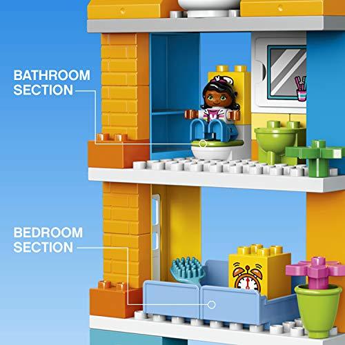 LEGO Duplo La Maison Familiale 10835 Jouet pour Enfants de 3 ans et Plus - 7