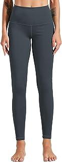 Dawwoti Running Pants for Women Full-Length Active Leggings Non See-Through Yoga Leggings