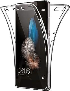 SDTEK Funda para Huawei P8 Lite (2015/2016) 360 Doble