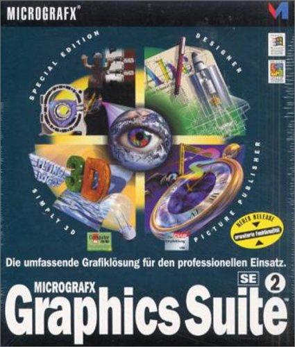 Micrografx Graphics Suite 2 SE CD-ROM für Windows 95/98/ NT 3.51/ NT 4. Die umfassende Grafiklösung für den professionellen Einsatz