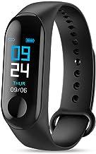 UIEMMY slim horloge Smart Watch Heren M3 Smart Polsband Fitness Tracker Hartslag Bloeddruk Horloge IP65 Waterdichte smartband
