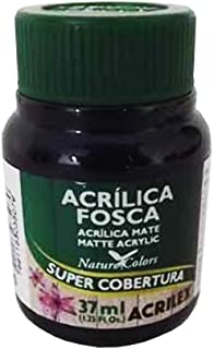 Tinta Acrílica 37ml Acrilex - Preto