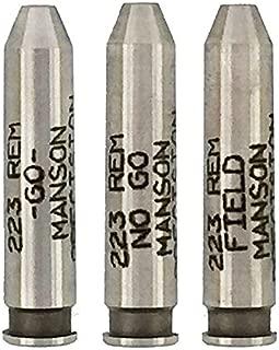 223 Remington Headspace Gauge Set Go / No-Go / Field