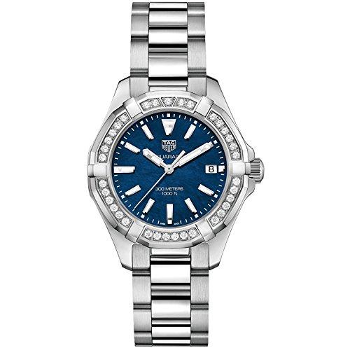 TAG Heuer Aquaracer Reloj de Mujer Diamante Cuarzo Suizo 35mm WAY131N.BA0748