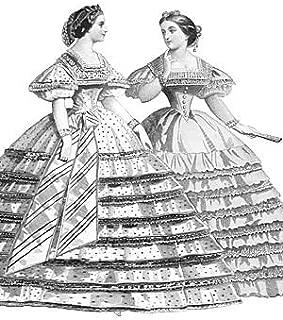 1861 Raphael Evening Dress Pattern
