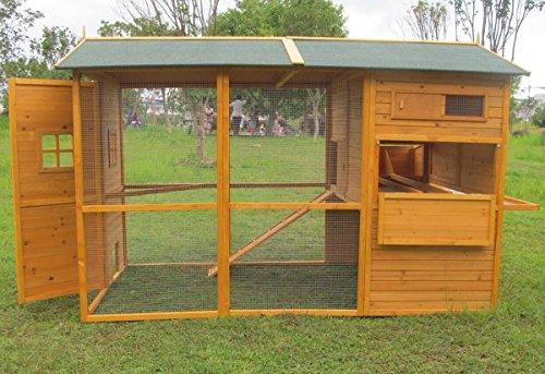 Hühnerstall aus Holz, Modell Brahma XXXXL