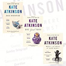 Kate Atkinson Collection Jackson Brodie Series 4 Books Set (Case Histories, One Good Turn, When Will There Be Good News? ,...