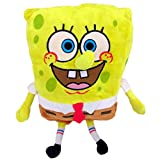 Bob Esponja Normal Supersoft 30cm Muñeco Peluche Serie dibujos...