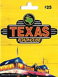 Texas Roadhouse Gift Card $25 (B00CXZPG0O) | Amazon price tracker / tracking, Amazon price history charts, Amazon price watches, Amazon price drop alerts