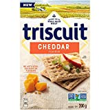 Triscuit Crackers Cheddar Flavour, 200g/7.1 oz. {Imported from Canada}