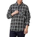 Dickies ディッキーズ ワークシャツ 長袖 シャツ カジュアルシャツ メンズ チェックワークシャツ ブランドロゴ チェックシャツ 0170-4401