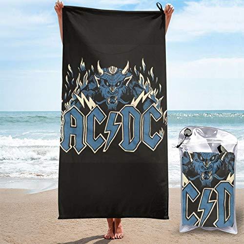 Rock or Busto álbumes Cyberpunk Chris Slade AC-DC Toalla de secado rápido de Baño de Lino de Pascua grande enacogedor unisex Sunbath spa 3d para hombres y mujeres niños