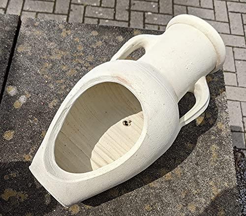 NEU !! Angebot - 2. Wahl !!!!!! liegende bepflanzbare Amphore 40-45 cm aus Terracotta Terrakotta Vase Liegeamphore Pflanzamphore