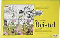 Strathmore Paper 300シリーズ シーケンシャルアートブリストル 滑らか 11 x 17インチ ホワイト 24枚 1
