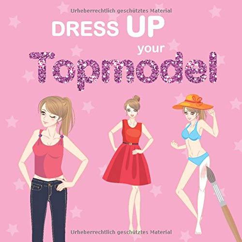Dress UP your Topmodel: Designe Deine eigene Mode-Kollektion | 40 Models warten darauf, von Dir bekleidet zu werden | verschiedene Posen