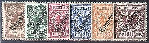 Goldhahn Kamerun Nr. 1-6 - Briefmarken für Sammler [Spielzeug]