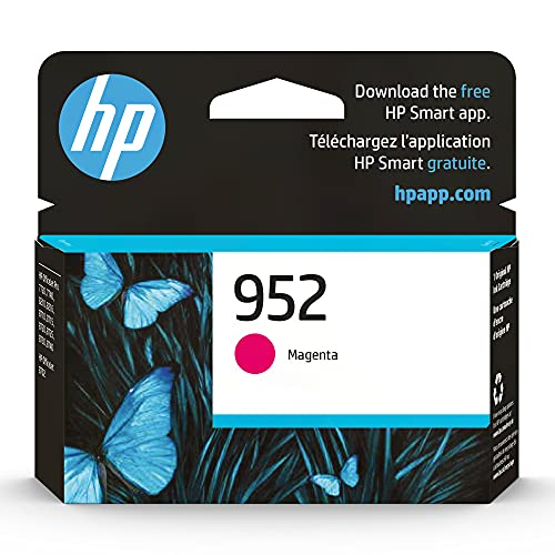 Original HP 952 Magenta Ink Cartridge | Works with HP OfficeJet 8702, HP OfficeJet Pro 7720, 7740, 8210, 8710, 8720, 8730, 8740 Series | Eligible for Instant Ink | L0S52AN