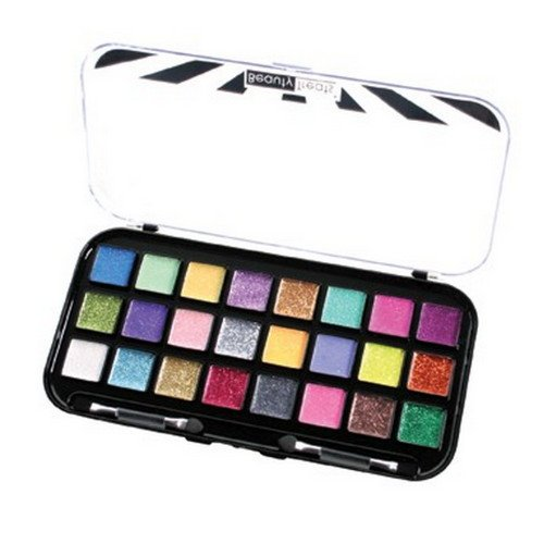 (3 Pack) BEAUTY TREATS 24 Sparkle Palette - Cream Based Glitter