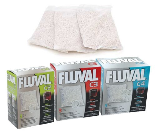 Fluval Eliminador de amoniaco para filtros. Serie C