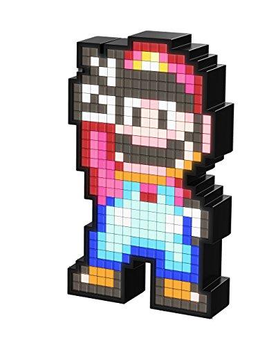 Luminária Pixel Pals Mario 16 Bit PDP Preto