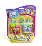 MojiPops Party - Blister Club Room con 4 figuras MojiPops (1 Glitter)