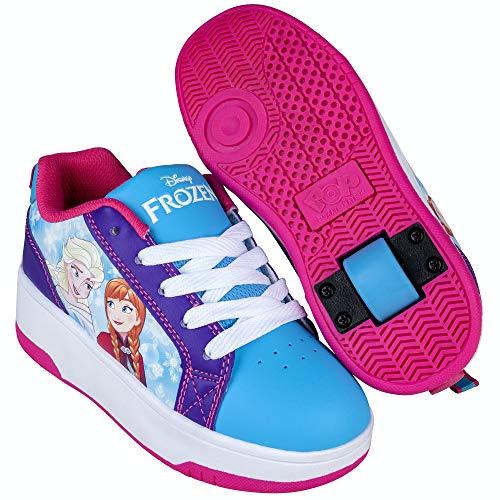 Heelys POP Disney La Reine des Neiges Cyan/Violet - Multicolore - multicolore, 32 EU
