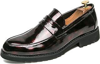 [MUMUWU] ビジネスシューズ メンズ メンズ靴 シューズ 通勤 合成レザー 男性 紳士靴 滑り止め 防水