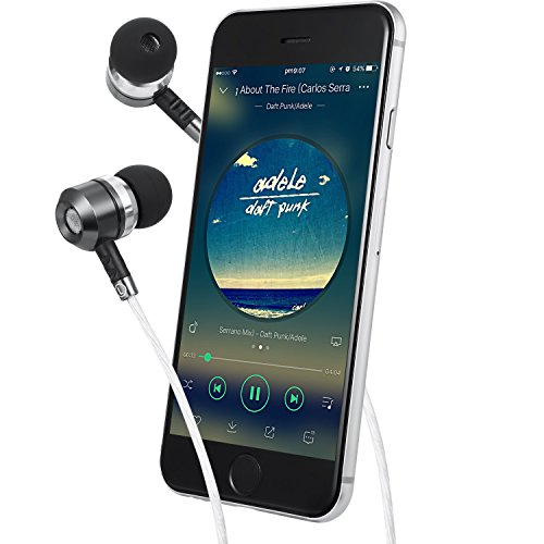 Sephia SP3060 Earbuds, Noise Isolating in Ear Headphones, Powerful Bass Sound, High Definition, Pure Audio, Earphones for iPhone, iPod, iPad, MP3 Players, Samsung Smartphones and Tablets 2