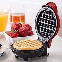 Deasy Wafelplaat kleur rood ontbijt en snack - EU stekker - 350W