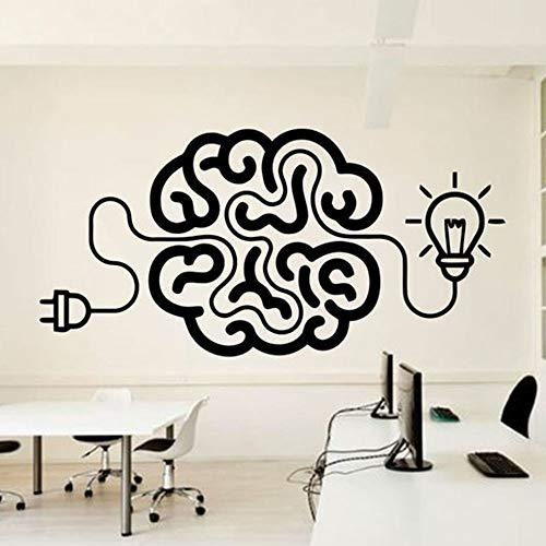 WERWN Ideas Decoración de la Pared Pegatinas de Pared del Cerebro Decoración de la casa Pegatinas de Pared artísticas Pegatina de Dormitorio Mural