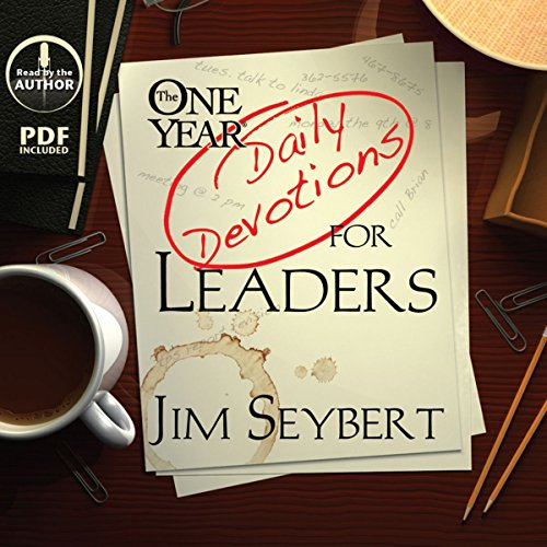 The One Year [Daily Devotions] for Leaders cover art