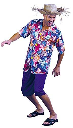 Value - Disfraz de hawaiano para hombre, talla única (22673)