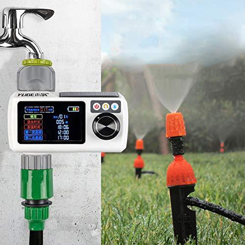 ILS – IP68 Wasserdichte große Bildschirm, automatischer Timer mit Wassersensor, Regensensor, Bewässerung,...