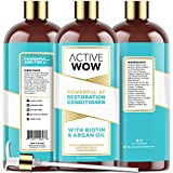 Active Wow Hair Growth Conditioner - DHT Blockers with Argan Oil &...