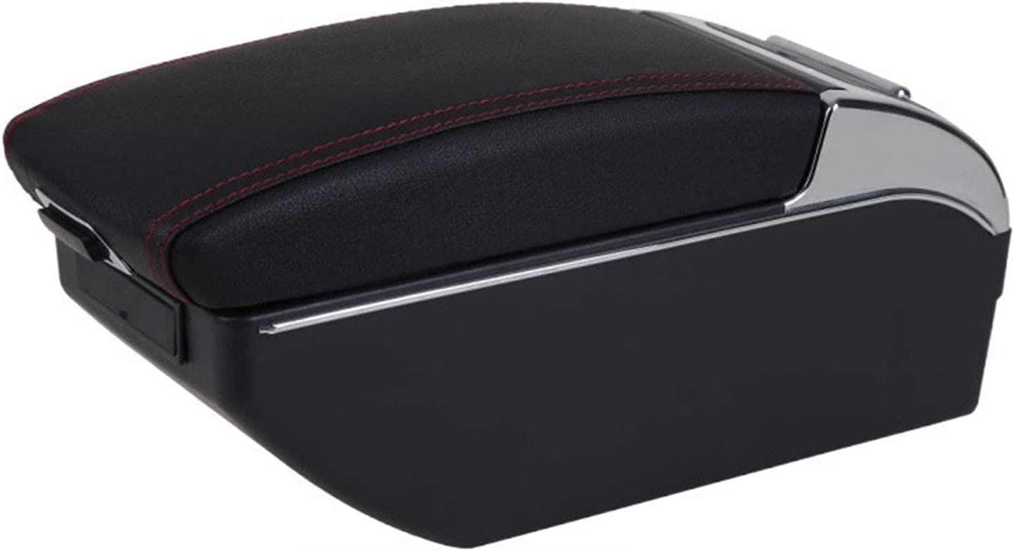 trend rank Double Layer Armrest Storage Box Charg Car USB latest with