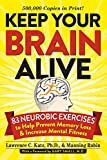 Image of Keep Your Brain Alive: 83 Neurobic Exercises To Help Prevent Memory Loss And Increase Mental Fitness