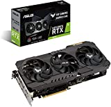 ASUS TUF Gaming NVIDIA GeForce RTX 3080 Scheda grafica (PCIe 4.0, 10GB GDDR6X, HDMI 2.1, DisplayPort 1.4a, cuscinetti a doppia sfera, certificazione militare, GPU Tweak II)